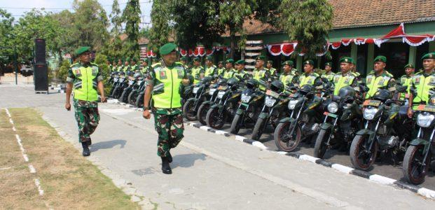 TNI-POLRI Siaga, Kawal Pilkades Serentak di Lamongan