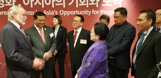 Olly Dampingi Megawati Hadiri The KOR-Asia Forum 2018 Seoul