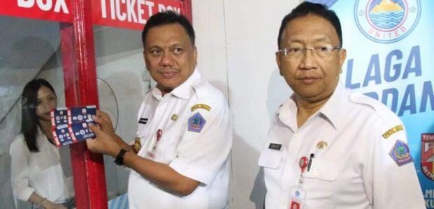 Nonton Laga Sulut United, Gubernur Ajak Beli Tiket di Loket