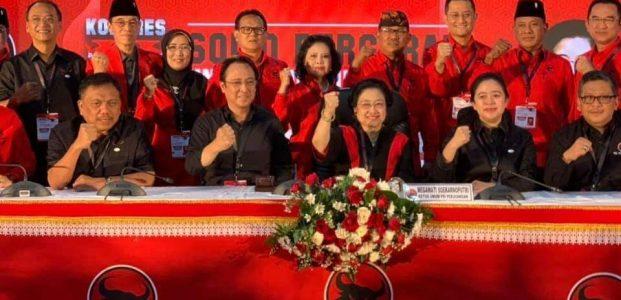 Olly Kembali Menjabat Bendahara Umum DPD PDI-Perjuangan