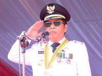 Bupati James Sumendap Irup HUT ke-74 RI di Mitra