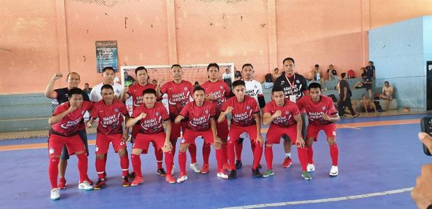 Tim Futsal Sulut Tumbangkan Kejagung 9-1
