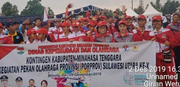 Kontingen Atlit Mitra Berhasil Raih 9 Medali Emas Pada Porprov Sulut