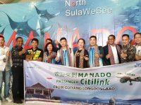 Citilink-Cocos Tour Boyong Ratusan Turis China Plesir ke Manado