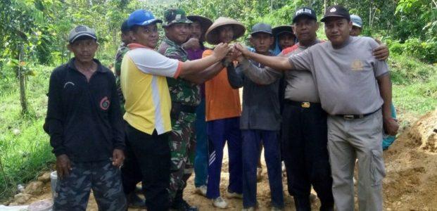 TMMD Reguler Ke-101, Kebersamaan TNI-POLRI dan Warga