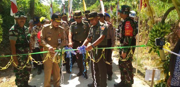 TMMD Reguler ke-101 Berakhir, TNI Tetap Gelorakan Semangat Kebersamaan