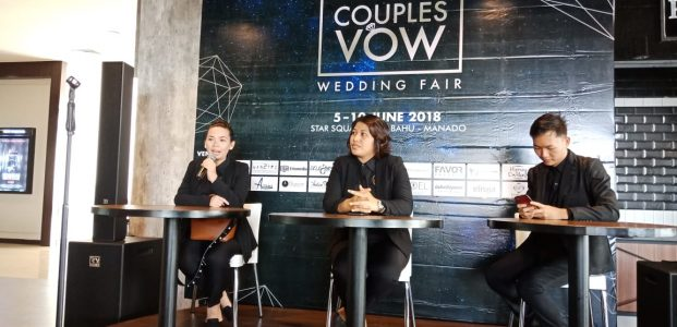 Couplesvow Wedding Fair 2018, Trend Baru Wedding di Manado