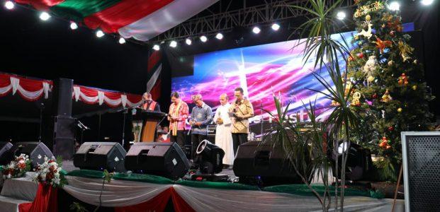 Christmas Festival GaungkanHarmonisasi Antar Umat Beragama