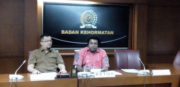 BK DPD Berhentikan Sementara Hemas dan Maemanah