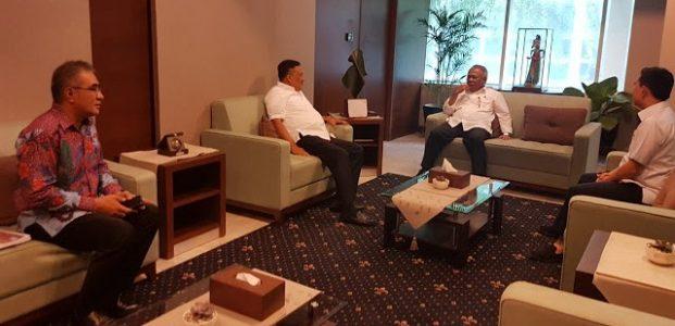 Genjot Pembangunan Infrastruktur Olly Lobby Menteri PUPR