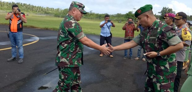 Pangdam XIII/Merdeka Kunjungi Kabupaten Talaud