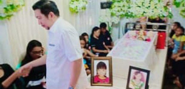 Hadiri Ibadah Pemakaman Cilla, Wawali Sebut Waspada Bahaya DBD
