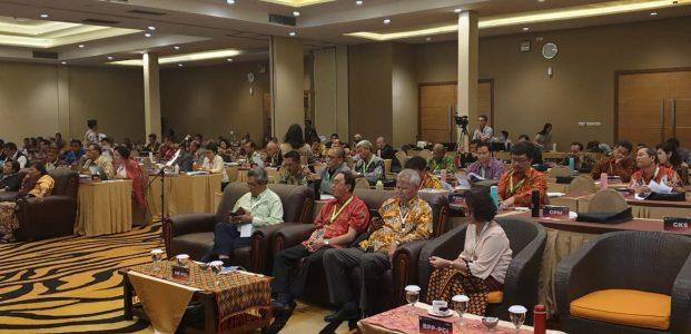 Hadiri MPL-PGI, Roring Bahas Keragaman dan Demokrasi