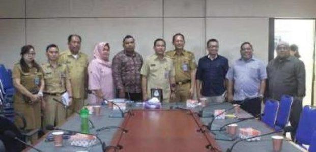 Komisi I DPRD Kota Ternate, Studing di Pemkot Manado