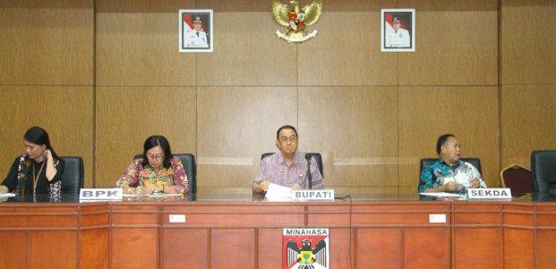 BPK Periksa Pemkab Minahasa, Roring Ingatkan Jajarannya Kooperatif