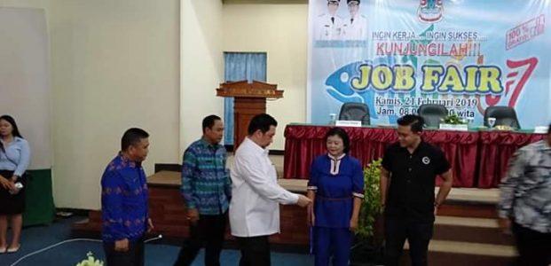 Manado Job Fair Fasilitasi Pencari Kerja