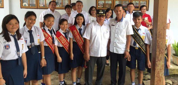 Wabud Sidak Sekolah, Pantau Kebersihan Sekolah