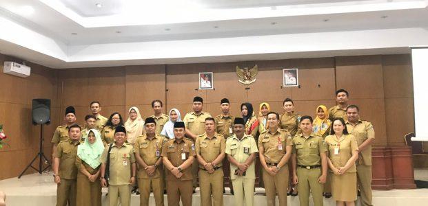 Sekretariat Kabupaten Bolsel Studing di Minahasa