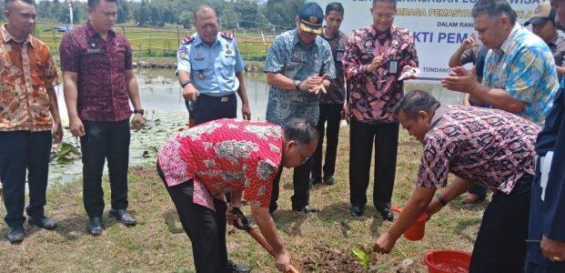 Hari Bhakti Pemasyarakatan ke-55 Kemenkumham, Gelar Aksi Peduli Lingkungan