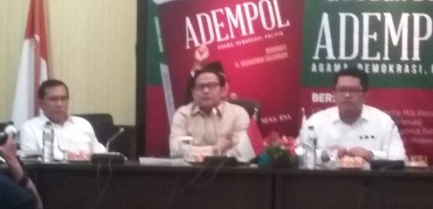 Buku ADEMPOL Cak Imin Dilaunching di DPR