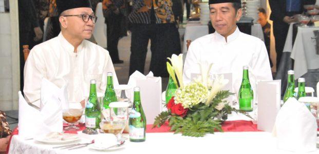 Ketua MPR Buka Puasa Bersama Presiden dan Wapres