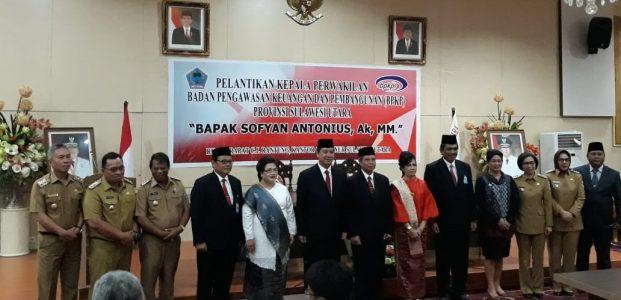 Wabup Hadiri Pelantikan Kepala Perwakilan BPKP Sulut