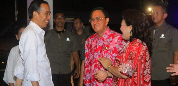 Roring Ikut Dampingi Jokowi Kunker di Sulut