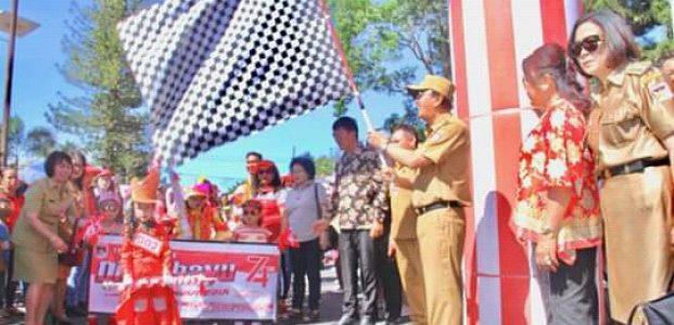 HUT Kemerdekaan RI ke 74 di Minahasa Dimeriahkan Berbagai Kegiatan