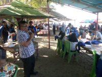Kunjungi Objek Wisata Mitra, Mahasiswa KKN UKIT Berterimakasih Kepada Bupati James Sumendap