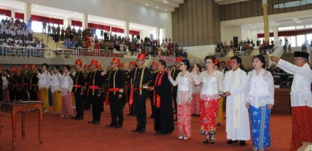 Anggota DPRD Kabupaten Minahasa Periode 2019-2024 Tempati Gedung Manguni Sasaran Tondano