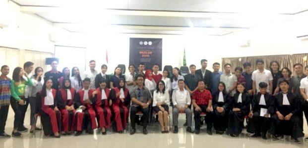Delegasi FH Unsrat Mantapkan Langkah Menuju Piala Prof Soedarto VII