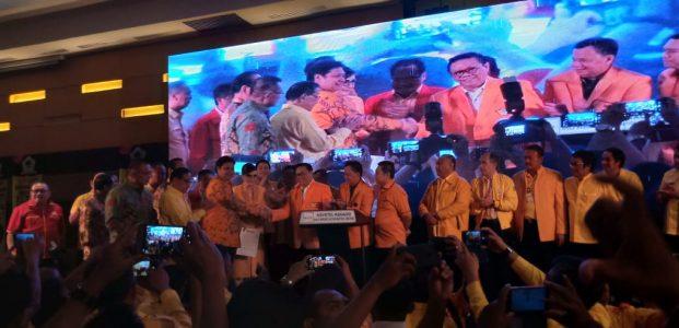 Konsolidasi Nasional Partai Golkar, Santer Dukung Airlangga Hartarto