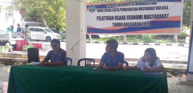 Tingkatkan Ekonomi Desa, Dinsos PMD Latih Pengolah Bumdes
