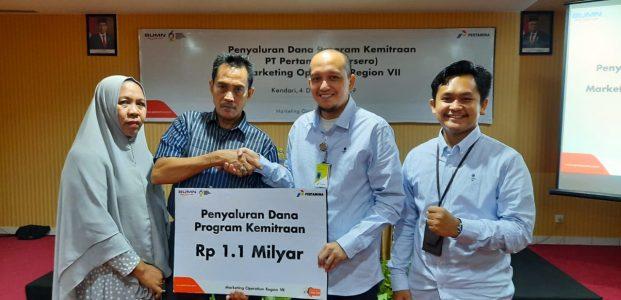 Dorong Pertumbuhan UMKM, Pertamina Kucurkan Rp15 Milyar di Wilayah Sulawesi