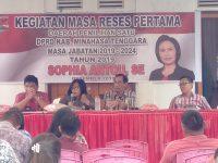 Gelar Reses, Sophia Antou Dengarkan Curahan Hati Masyarakat Pusomaen