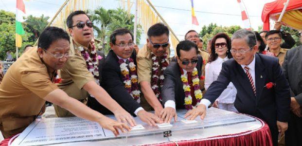 Gubernur Resmikan Gedung GMAHK Jemaat Victory Kauditan