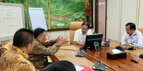 Olly dan Menteri ATR/BPN Bahas Proyek Ring Road dan Fly Over