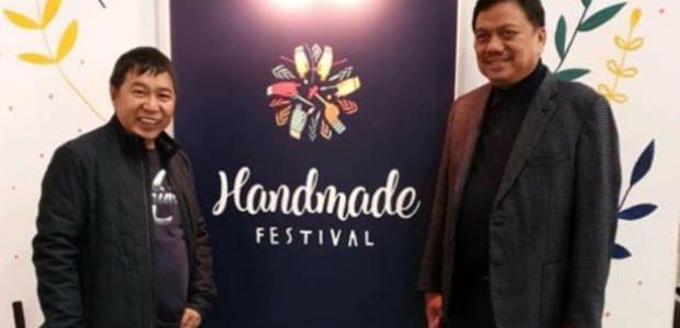 James Sumendap Dampingi Olly Dondokambey Hadiri Festival Handmade di Spanyol
