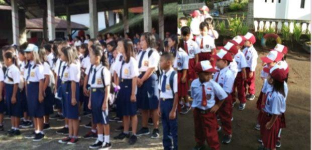 Siswa SD-SMP di Mitra, Wajib Pakai Rok dan Celana Panjang