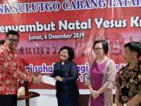 Bank SulutGo Ratahan Gelar Ibadah Menyambut Natal