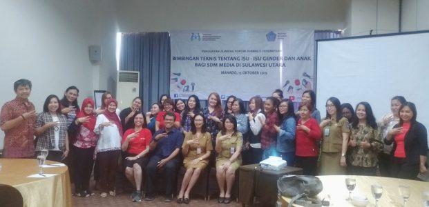 Kementerian PPPA Dorong Jurnalis Perempuan Sulut Responsif Gender