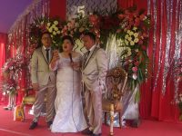 Keluarga Rau-Paat Mengucap Syukur di HUT Pernikahan Tahun Perak
