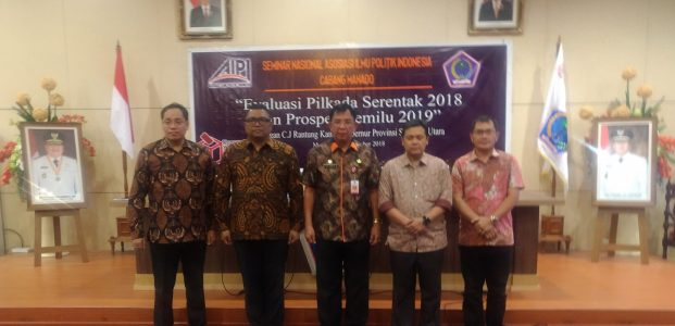 Anggota Bawaslu RI Puji Tingginya Partisipasi Pemilu 2018 di Sulut