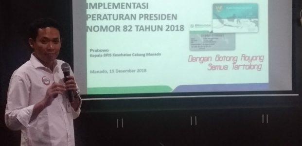 Sempurnakan Payung Hukum JKN-KIS, BPJS Kesehatan Manado Rilis Perpres 82 Tahun 2018