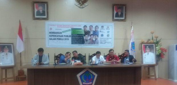 Presidium JaDi Menakar Pentingnya Membangun Kepercayaan Publik di Pemilu 2019