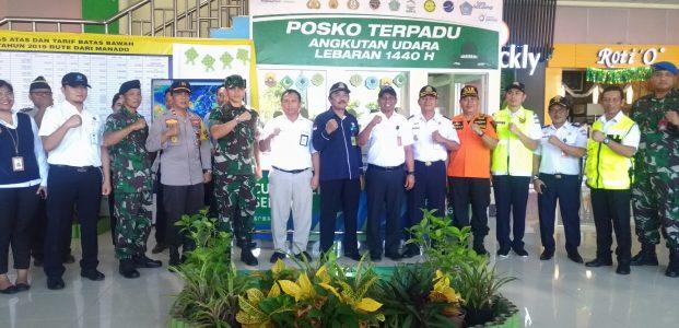 Posko Terpadu Bandara Samrat Jamin Keamanan dan Kenyamanan Pemudik