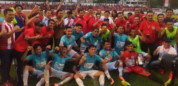 Goal Berkelas Eksel Runtukahu Sumbang Kemenangan Sulut United 2-1