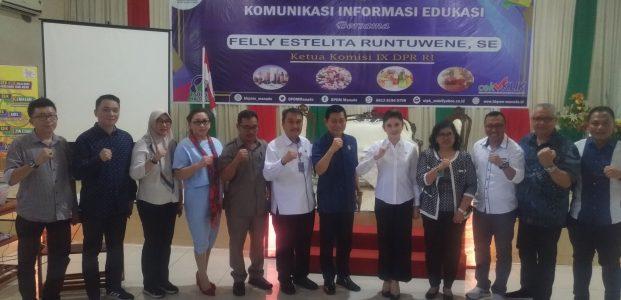 Komisi IX DPR RI Gandeng BBPOM Manado Edukasi Pangan Sehat