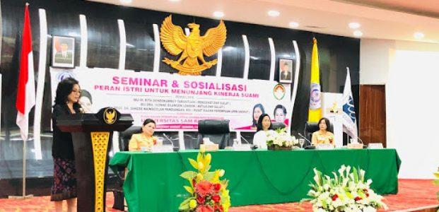 First Lady Sulut Jadi Keynote Speech di Unsrat
