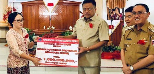 Gubernur Hibahkan Dana Bantuan Rp1 Miliar untuk KGPM